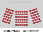 top view show seat in the... | Shutterstock .eps vector #1030201924