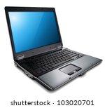 laptop  modern computer  vector ...   Shutterstock .eps vector #103020701