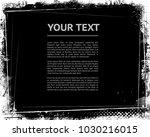 grunge frame.vector grunge...   Shutterstock .eps vector #1030216015