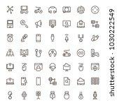 online game icon set....   Shutterstock .eps vector #1030222549