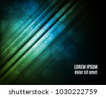 abstract lines background with... | Shutterstock .eps vector #1030222759