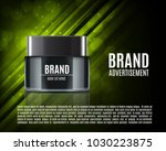 cosmetic ads template. cosmetic ...   Shutterstock .eps vector #1030223875
