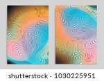 abstract cover template with... | Shutterstock .eps vector #1030225951