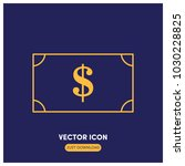 money vector icon illustration