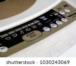 Close Up Of Control Panel At...