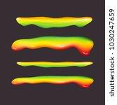 syrup splash border   mobile... | Shutterstock .eps vector #1030247659