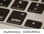 alt option symbol keyboard key... | Shutterstock . vector #1030250011