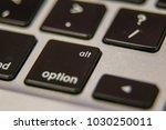 alt option symbol keyboard key... | Shutterstock . vector #1030250011