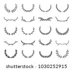 collection of different black... | Shutterstock .eps vector #1030252915