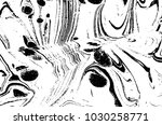 black and white liquid texture. ... | Shutterstock .eps vector #1030258771
