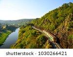 Czech Train On Railroad By...