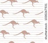 vector illustration. kangaroos... | Shutterstock .eps vector #1030267531