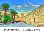 walls and minaret of the grand... | Shutterstock . vector #1030271791