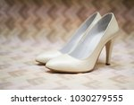 bride shows for wedding | Shutterstock . vector #1030279555