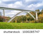 double arch bridge at natchez... | Shutterstock . vector #1030285747