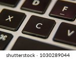 c keyboard key button press... | Shutterstock . vector #1030289044