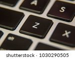 z keyboard key button press... | Shutterstock . vector #1030290505