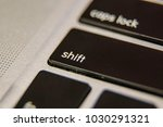 keyboard key button press type... | Shutterstock . vector #1030291321