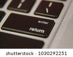 enter return keyboard key... | Shutterstock . vector #1030292251