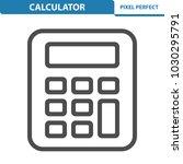 calculator icon. professional ... | Shutterstock .eps vector #1030295791