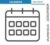 calendar icon. professional ... | Shutterstock .eps vector #1030295809