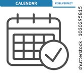 calendar icon. professional ... | Shutterstock .eps vector #1030295815