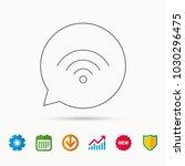 wifi icon. wireless wi fi...