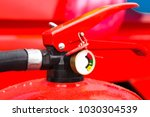 charged and ready to use fire... | Shutterstock . vector #1030304539