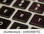 r keyboard key button press... | Shutterstock . vector #1030308751