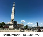 soldiers and sailors monument... | Shutterstock . vector #1030308799
