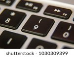 nine 9 number keyboard key... | Shutterstock . vector #1030309399