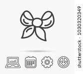 gift bow icon. present... | Shutterstock .eps vector #1030320349