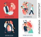 sociopath design concept with... | Shutterstock .eps vector #1030347247