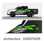 racing graphic background... | Shutterstock .eps vector #1030376209