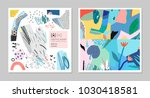 collection of creative... | Shutterstock .eps vector #1030418581