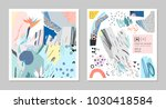 collection of creative... | Shutterstock .eps vector #1030418584