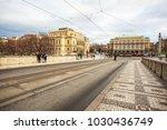 24.01.2018 prague  czech... | Shutterstock . vector #1030436749