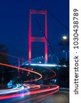istanbul bosphorus bridge at... | Shutterstock . vector #1030438789