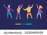 vector illustration  character... | Shutterstock .eps vector #1030440439