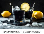 detox activated charcoal black... | Shutterstock . vector #1030440589