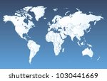 world map vector | Shutterstock .eps vector #1030441669