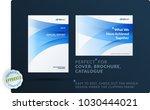 set of design brochure ... | Shutterstock .eps vector #1030444021