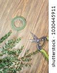 florist garden rustic | Shutterstock . vector #1030445911