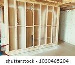 basement renovations in house | Shutterstock . vector #1030465204