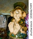 Clay Figurine Of A Leprechaun ...