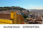 panoramic view of lisbon ... | Shutterstock . vector #1030469281