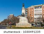 madrid  spain   january 21 ... | Shutterstock . vector #1030491235
