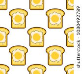 vector seamless pattern with... | Shutterstock .eps vector #1030492789