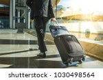 businessman back and legs... | Shutterstock . vector #1030498564