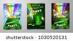 vector st. patrick s day poster ...   Shutterstock .eps vector #1030520131